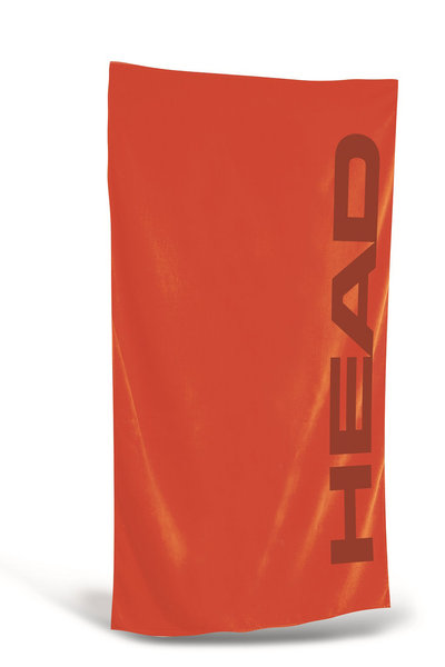 HEAD RĘCZNIK SPORT MICROFIBER TOWEL  150X75 red 455067