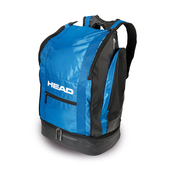 HEAD PLECAK TOUR BACKPACK40  black/light-blue  37x50x25 455106
